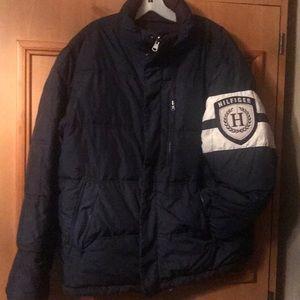 Tommy Hilfiger sz L Reversible puffer jacket